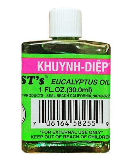Dầu Khuynh Diệp BST's Eucalyptus Oil 30ml Của Mỹ