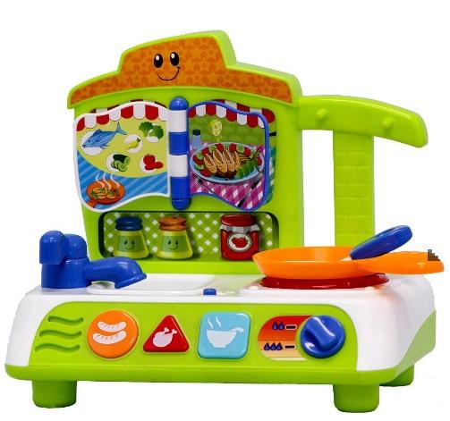 Bộ đồ chơi nấu ăn cho bé có đèn nhạc Winfun 0755