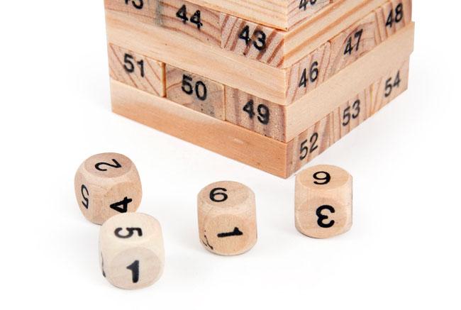 Đồ chơi rút gỗ 54 thanh Wiss Toy giá rẻ