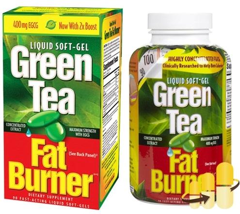 Viên Giảm Cân Từ Trà Xanh Green Tea Fat Burner Của Mỹ