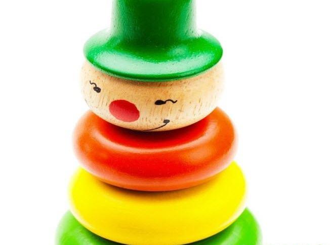 Đồ chơi xếp hình hề tháp bằng gỗ giá rẻ