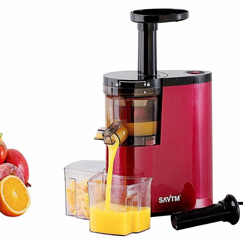 Máy ép trái cây chậm SAVTM cho lượng nước nhiều gấp 1,5 lần so với các loại máy ép thông thường