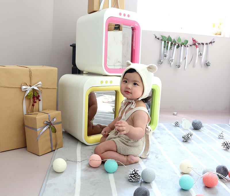 Máy tiệt trùng sấy khô, khử mùi bằng tia UV Upang của Hàn Quốc có thể tiệt trùng bình sữa, đồ chơi cho bé hiệu quả