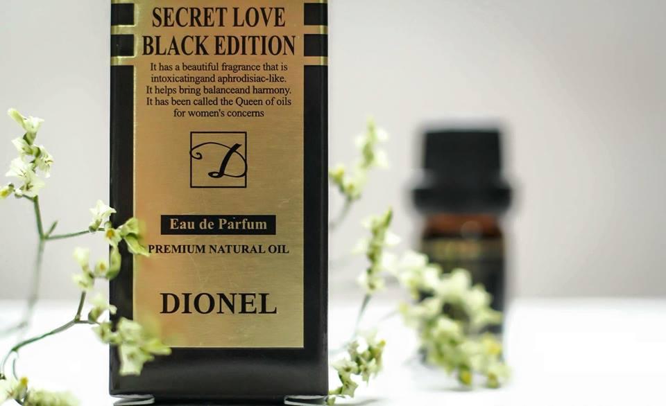 Nước hoa vùng kín Dionel secret love mang lại hương thơm dịu nhẹ, quyến rũ