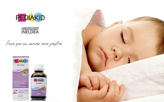 Siro Pediakid Sommeil giúp bé ngủ ngon hơn, sâu giấc hơn