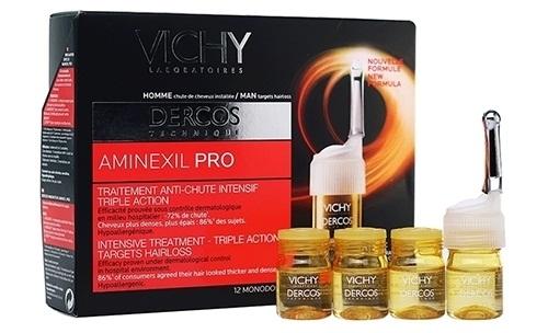Tinh Chất Ngăn Ngừa Giảm Rụng Tóc Cho Nam VICHY Dercos Aminexil Pro được nâng lên nhờ công thức cấu tạo đặc biệt