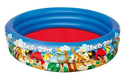 Bể bơi phao Angry Birds Bestway 3 tầng dày dặn
