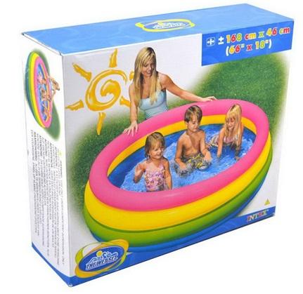 Bể bơi phao 4 tầng cho bé Intex 56441 chính hãng