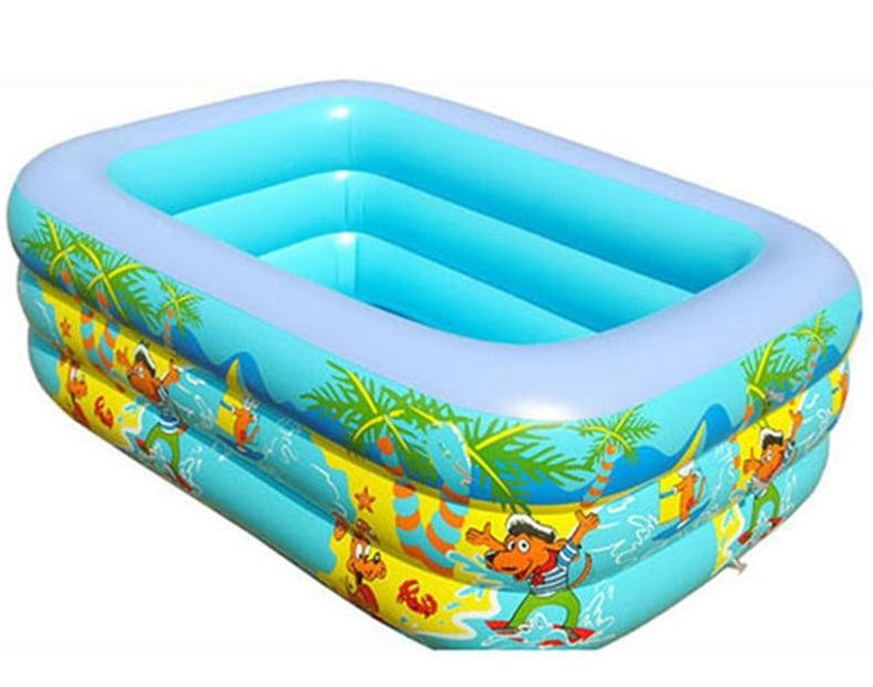 Bể bơi phao Summer Sea thiết kế 3 tầng dày dặn, cho bé thoải mái vui chơi
