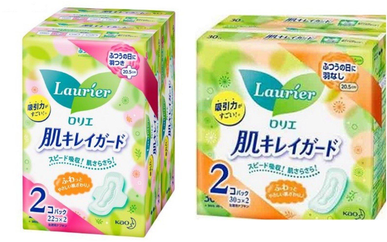 Combo Băng Vệ Sinh Laurier Nhật Siêu Mỏng