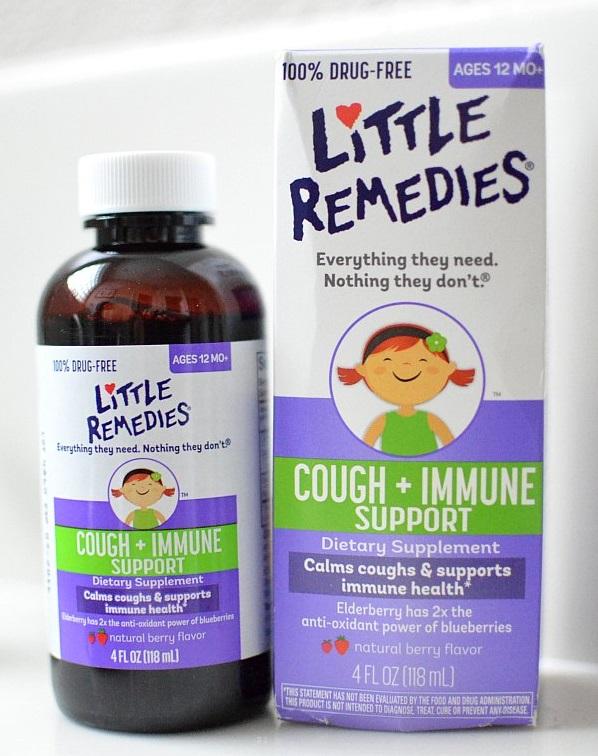 Siro giảm ho, tăng đề kháng Little Remedies Cough And Immune