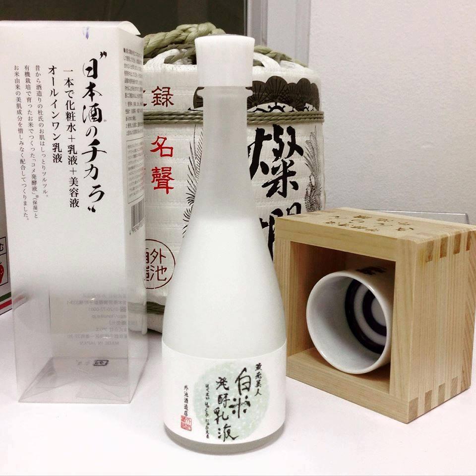Nước Hoa Hồng Sake – Nước Thần Từ Rượu Sake