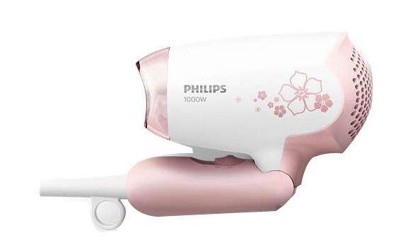 Máy sấy tóc Philips HP8108 có thể gập gọn, được trang bị móc treo tiện lợi
