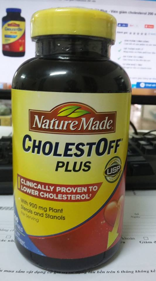 Nature Made Cholest Off Plus - Viên giảm cholesterol 200 viên 1
