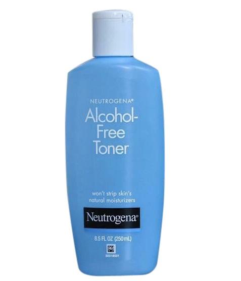 Nước hoa hồng Neutrogena Alcohol – Free Toner không chứa cồn với công thức thông minh cùng hệ thống lọc cực kì nhẹ nhàng