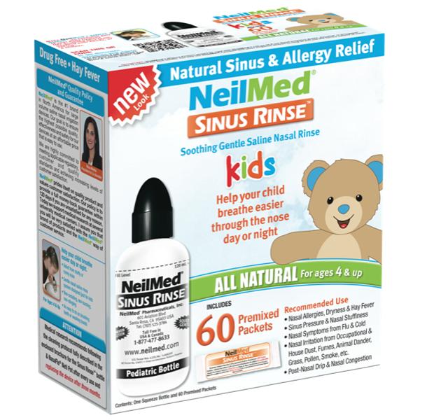Bình rửa mũi NeilMed Sinus Rinse sản phẩm vệ sinh mũi cao cấp của Mỹ