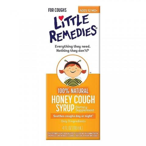 Siro ho Little Remedies - sản phẩm dịu ho, trị viêm họng của Mỹ