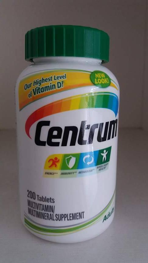 Centrum adults bổ sung vitamin cho người dưới 50 tuổi từ A - Z