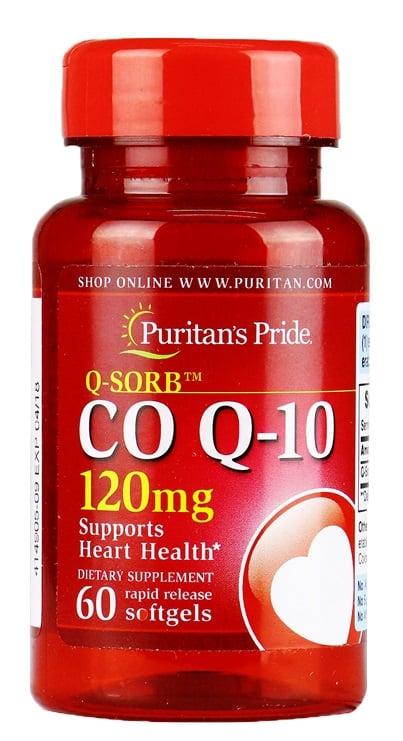 Viên uống bổ tim Puritan's Pride coq10 120mg 100 viên
