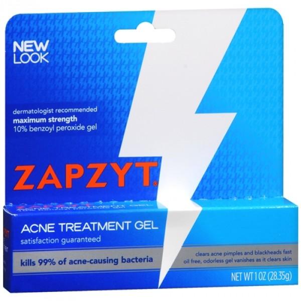Gel điều trị mụn Zapzyt Maximum Strength 10% Benzoyl Peroxide Acne Treatment với công thức 10% Benzoyl Peroxide