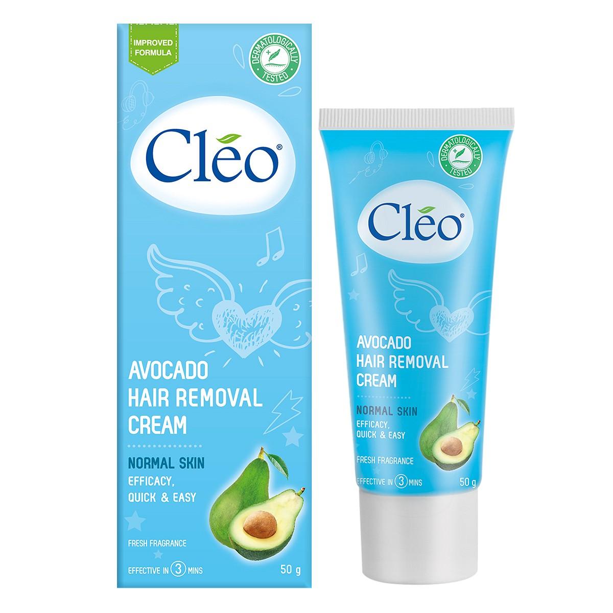 Kem tẩy lông Cleo từ Mỹ 5