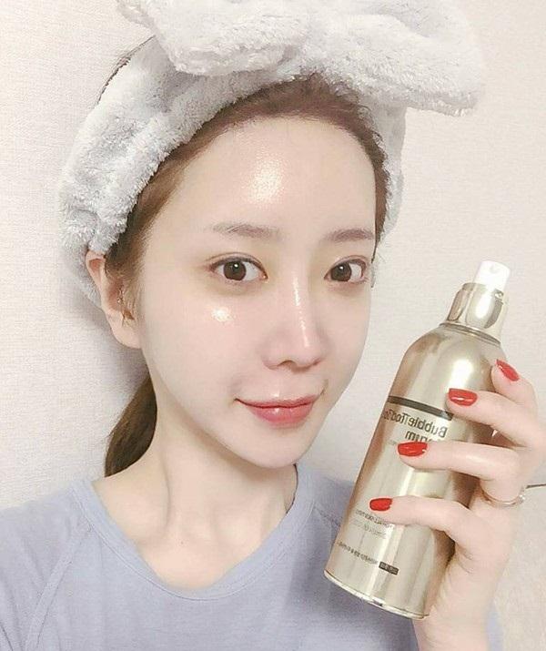 Serum dưỡng da Bubble Toc Toc giúp làm da mềm mịn và căng da rõ rệt