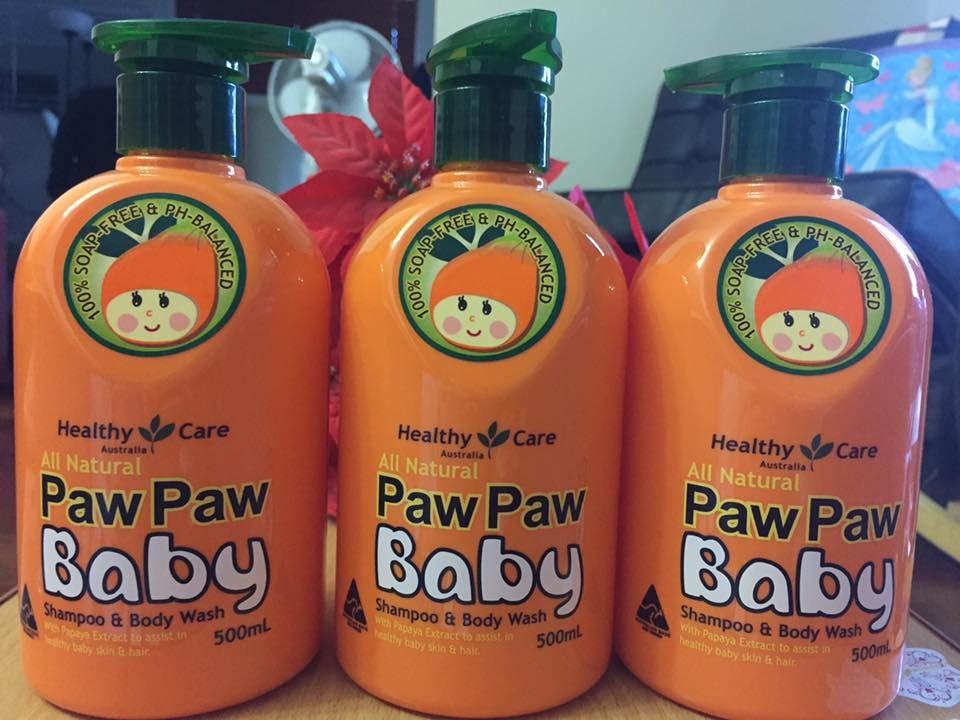 Sữa tắm gội Paw Paw Baby Healthy Care Úc dành cho bé 2