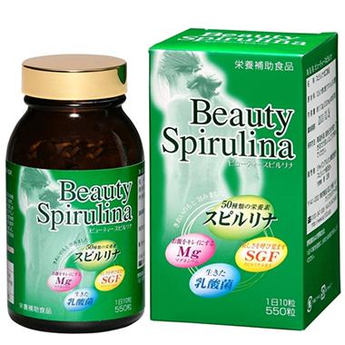 Tảo Beauty Spirulina Nhật Bản - Làm đẹp da, ngăn ngừa lão hóa