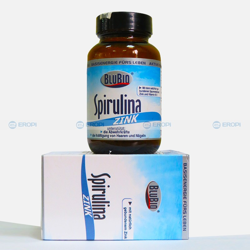 Tảo xoắn Spirulina Zink hỗ trợ điều trị chứng rối loạn chuyển hoá như bị bệnh tiểu đường, mỡ máu cao