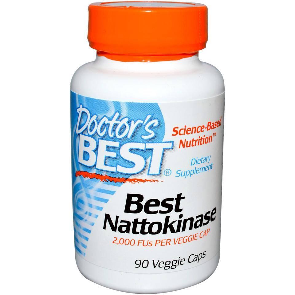 Doctor's Best Nattokinase viên bổ tim mạch, ngừa đột quỵ