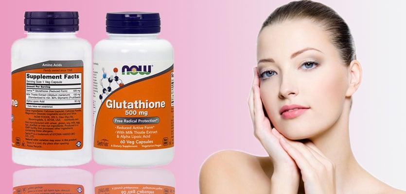 Viên uống Now Supplements Glutathione 500mg