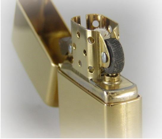 Bật lửa Zippo 168 - Zippo Armor Brushed Brass giá rẻ