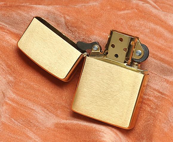 Bật lửa Zippo 168 - Zippo Armor Brushed Brass