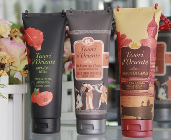 Sữa tắm nước hoa Tesori D'Oriente dưỡng ẩm độc đáo 2