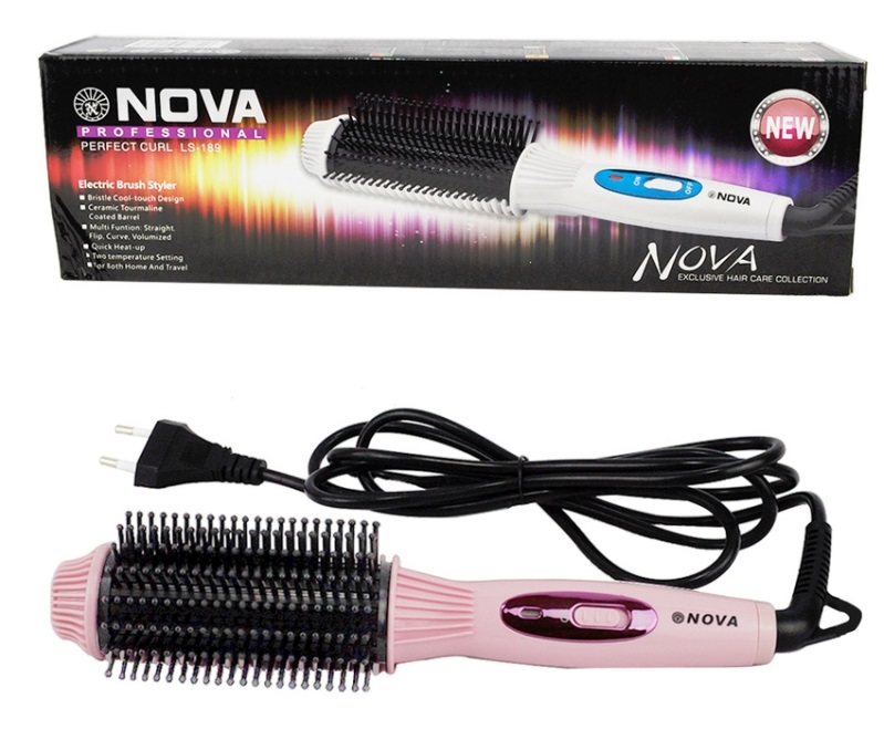 Lược điện tạo kiểu tóc Nova LS-189