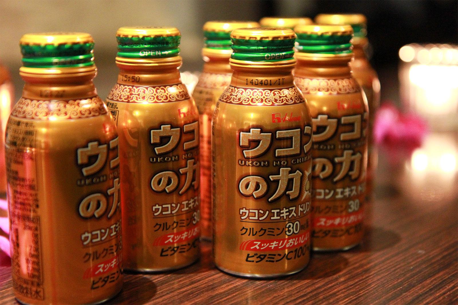 Nước Uống Giải Rượu Tinh Nghệ Ukon No Chikara Nhật Bản