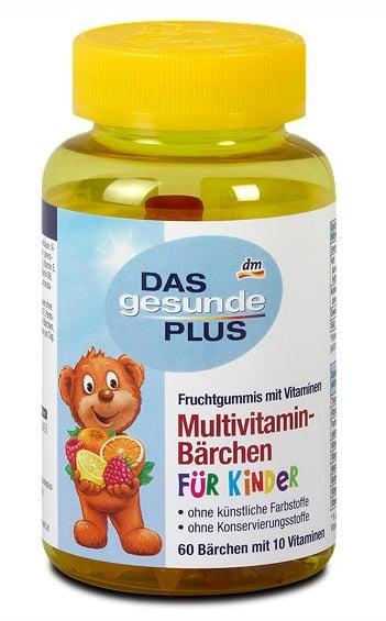 Kẹo Vitamin tổng hợp cho bé Das gesunde Plus của Đức