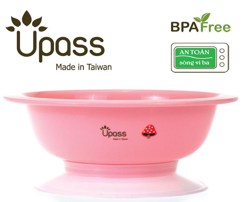 Bát ăn dặm Upass UP5024YH màu hồng