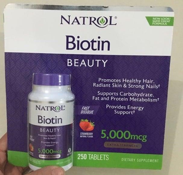 Biotin 5000mcg mẫu mới