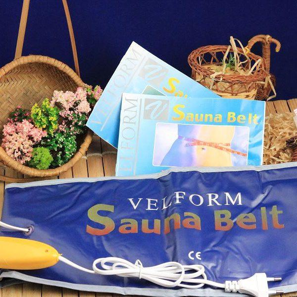 Đai quấn nóng giảm mỡ bụng Sauna Belt mang thương hiệu và công nghệ của Mỹ