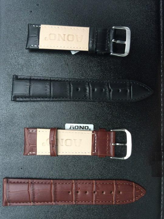 Dây đồng hồ có 2 màu sắc cho bạn lựa chọn phù hợp với sở thích