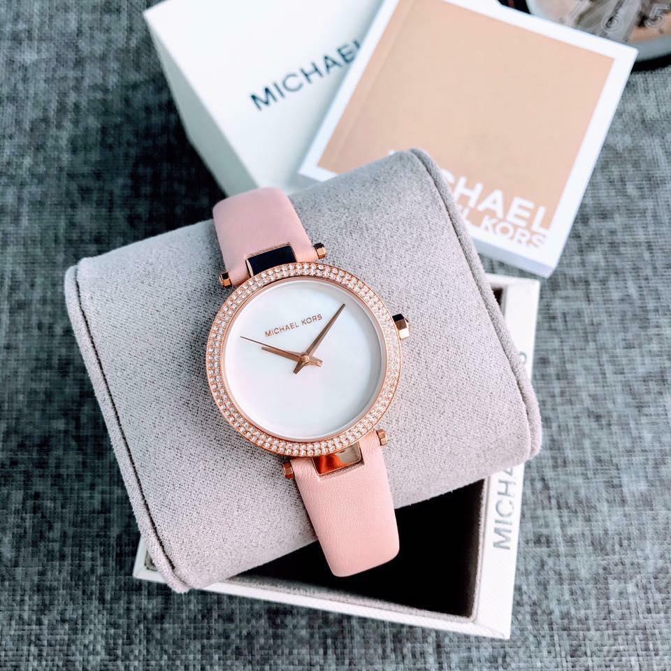 Đồng hồ Michael Kors MK2590 dây da