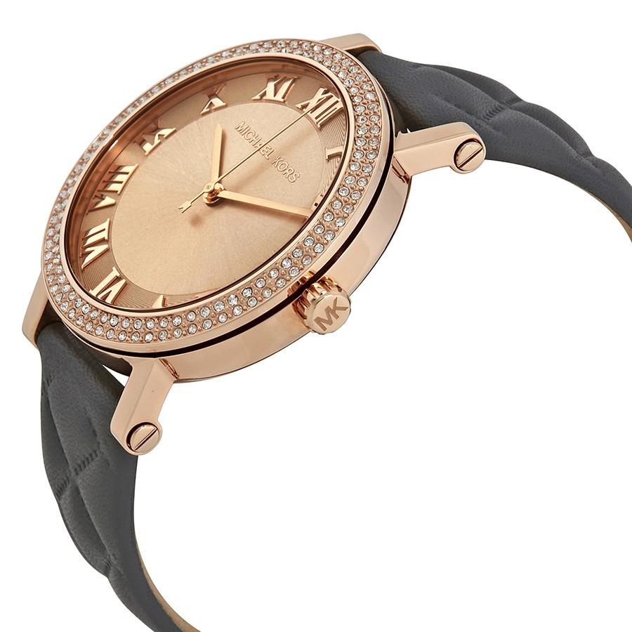 Đồng hồ Michael Kors MK2619 dây da thời thượng