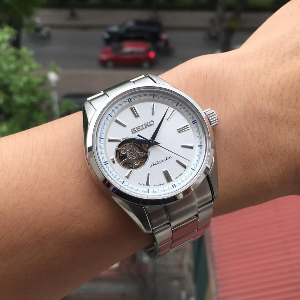 Đồng hồ Seiko nam SARY051 trên tay cực chất