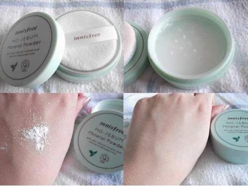 Phấn Phủ Dạng Bột Innisfree No Sebum Mineral Powder 2