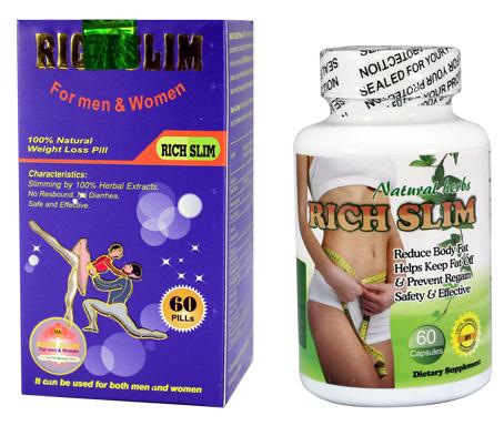 Rich Slim - Viên Uống Dành Cho Người Khó Giảm Cân