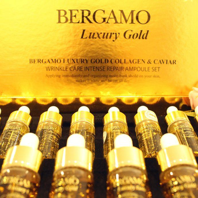 Serum Bergamo Luxury Gold Collagen & Caviar ngừa lão hóa 1