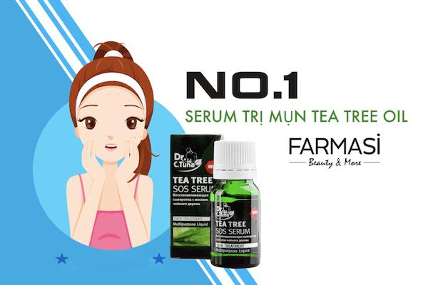 Serum trị mụn cấp tốc Farmasi Dr. C.Tuna Tea Tree SOS