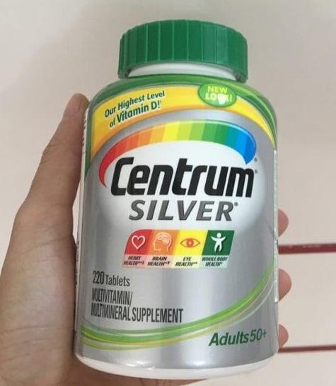 Centrum Silver Adults bổ sung đầy đủ dưỡng chất cho người cao tuổi