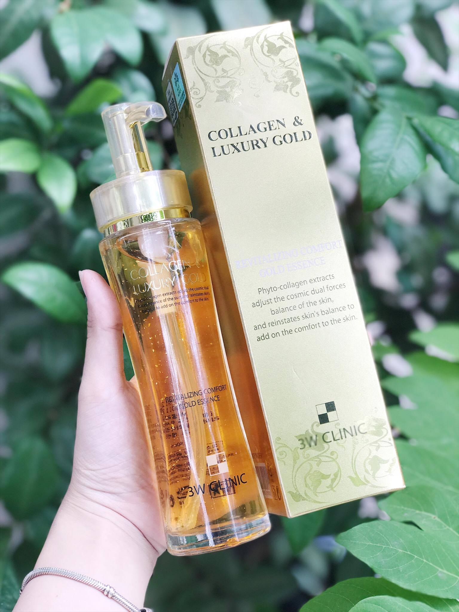 Tinh Chất Trắng Da 3W Clinic Collagen & Luxury Gold